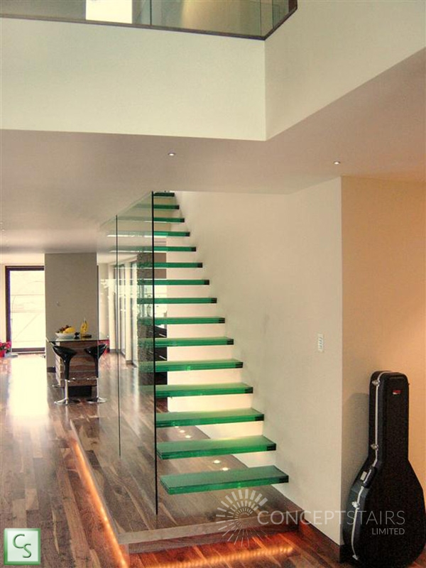 Bespoke Glass Staircases