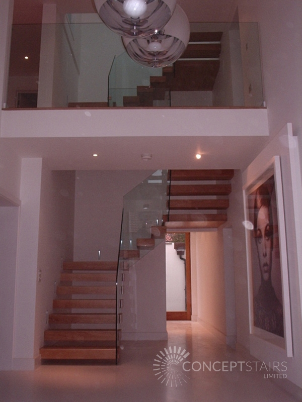 Feature Timber Staircase Design Amp Installation Bespoke