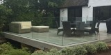 Reigate – Bespoke external glass balustrade to new decking area